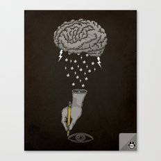 Brain Storm Canvas Print