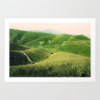 Monte Grappa, North Ital… Art Print