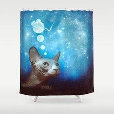 Night Dreamer Shower Curtain