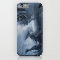 iPhone & iPod Case featuring Blue Veins  by Leanna Rosengren