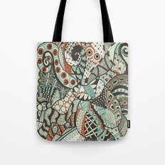 Peanuts i wanted to be octopus Tote Bag