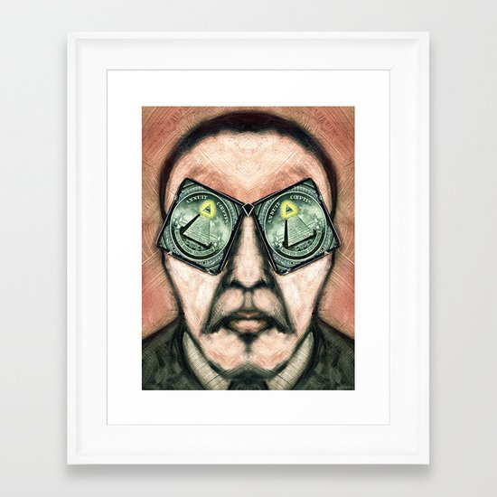 EYE RS Framed Art Print