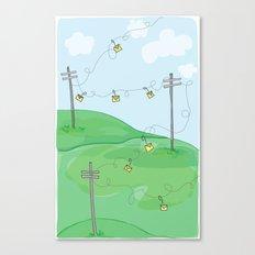 Hang a Message Canvas Print