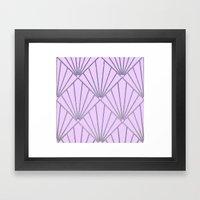 Art Deco Clams #2 Framed Art Print