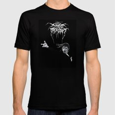 MIKETHRONE Mens Fitted Tee Black SMALL