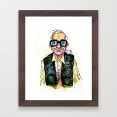 George A. Romero Framed Art Print