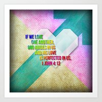 Love Perfected Art Print