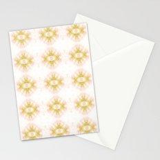 Green Eye Pattern  Stationery Cards