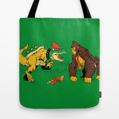 Boss vs Kong Tote Bag