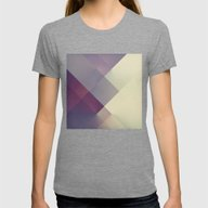 RAD XIII Womens Fitted Tee Tri-Grey SMALL