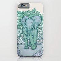 Emerald Elephant In The … iPhone 6 Slim Case