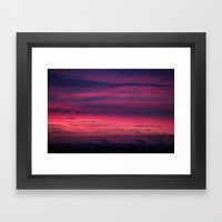 Urban Dawn Framed Art Print