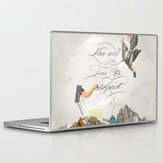 L.W.T.U.A (Love will tear us apart) Laptop & iPad Skin