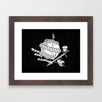 Be Not Afraid In This Wo… Framed Art Print