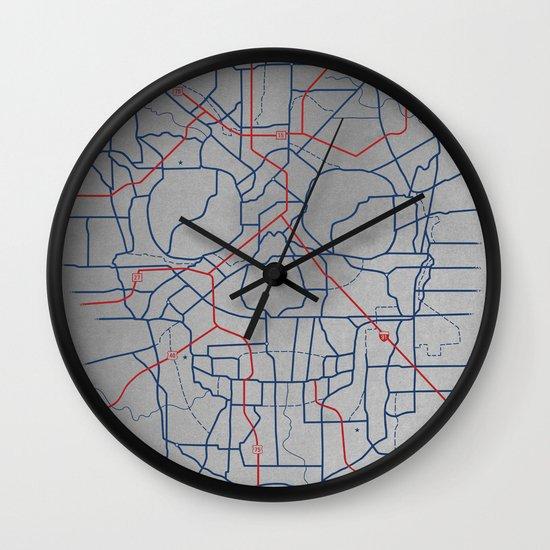 Death Toll Wall Clock