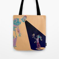 Robot Number 3 and Me Tote Bag