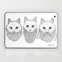 Cats With Beards Laptop & iPad Skin