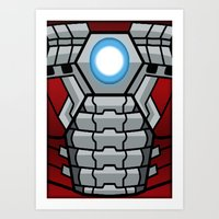 Lego Mark V Art Print