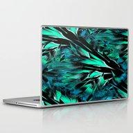 Jungle Trip (teal) Laptop & iPad Skin