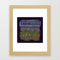 Excitebike Framed Art Print