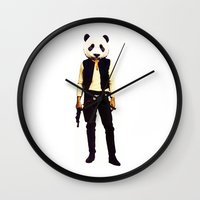 Pan Solo Wall Clock