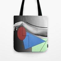 Arm-ed Tote Bag