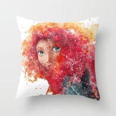 Brave Merida Disneys Throw Pillow