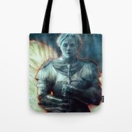 Tote Bag featuring Brienne by Anna Dittmann