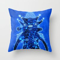 Inner Galaxy Throw Pillow