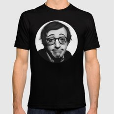 Woody Allen SMALL Mens Fitted Tee Black