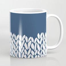 Half Knit Navy Mug