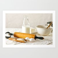 Vintage Cooking Art Print