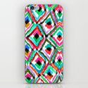 Watercolour Ikat iPhone & iPod Skin