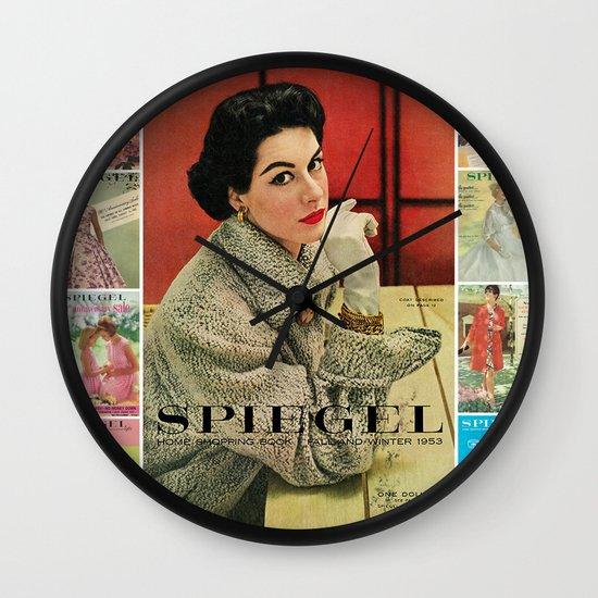 1953 Fall/Winter Catalog Wall Clock