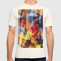 abstrakt 53 color Mens Fitted Tee Natural SMALL