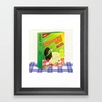 SF Superfried Nuts Framed Art Print