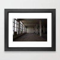 Lost Focus Framed Art Print