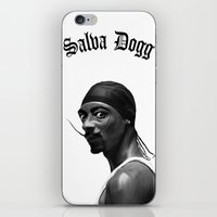Salva Dogg iPhone & iPod Skin