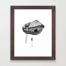 Break-In Framed Art Print
