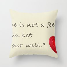 love is.. Throw Pillow