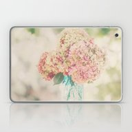 Laptop & iPad Skin featuring Dreamy Autumn Hydrangea … by V. Sanderson / Chick…