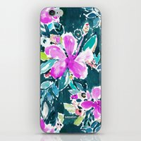 HIBISCUS POP FLORAL iPhone & iPod Skin