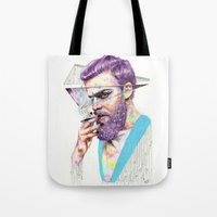 Clown on the Outside Tote Bag