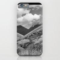 Mountains, Village, Sky. iPhone 6 Slim Case