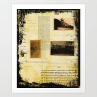Out With The Old And In … Art Print