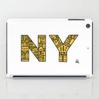 SNOW NY - PM iPad Case