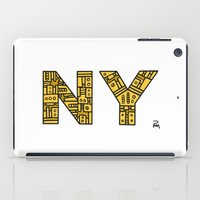 SNOW NY - PM iPad Case