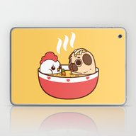 Chicken Noodle Puglie So… Laptop & iPad Skin