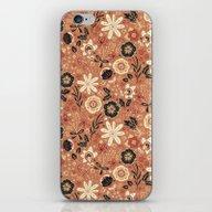 Festive Florals (Oranges… iPhone & iPod Skin