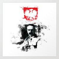 Polska - Marszałek Piłsudski Art Print